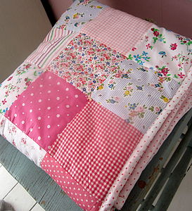 Patchwork Quilt Can Be Personalised - children's living