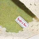 Hand Knitted Wool Pram Blankets