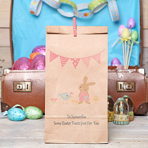 Personalised Friends Gift Bag - easter egg hunt