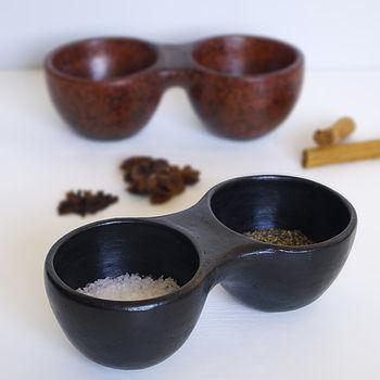 Earthenware Twin Pinch Bowls