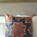 Vintage Scarf Paisley Cushion