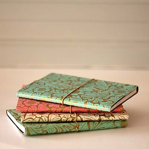 Eco Friendly Floral A5 Notebook - stationery