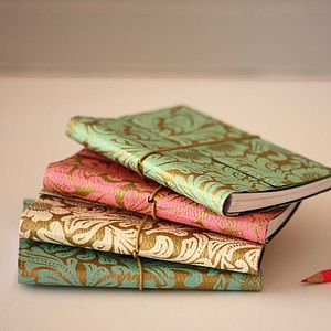 Eco Friendly Floral A6 Notebook - office & study