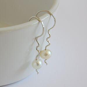 Pearl Earrings - earrings