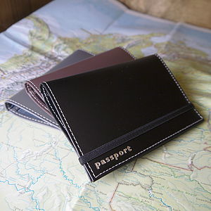 Leather Passport Case