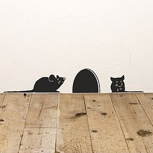 Mice Vinyl Wall Sticker - decorative accessories