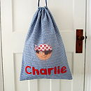 Personalised Boy's Pirate Laundry Bag