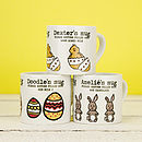 Chick in Eggs Easter mugs