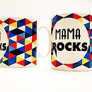 'Mum / Mama Rocks' Mug