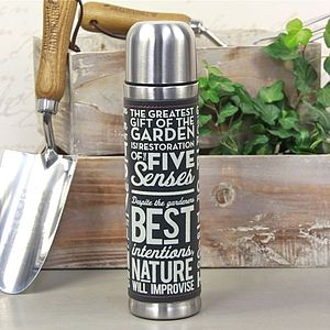 'Thoughtful Gardener' Thermos Flask