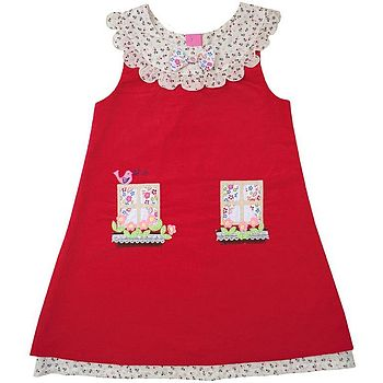 Red Cottage Dress