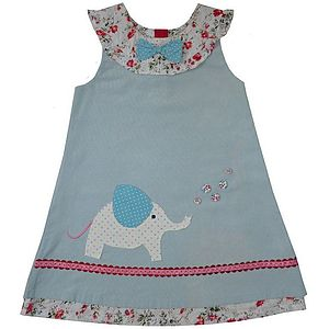 Elephant Cord Dress - children's dresses