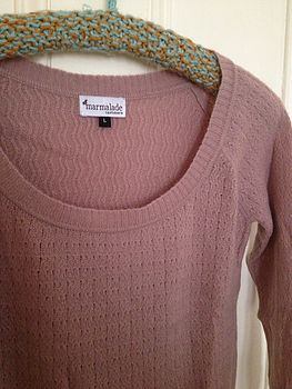 Rose Cashmere Jumper