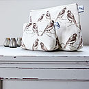 Birdie Cosmetic Or Wash Bag