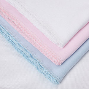 Hampton Organic Cotton Fleece Blanket - soft furnishings & accessories