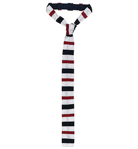 Yorkshire Hussars Silk Knitted Tie - ties