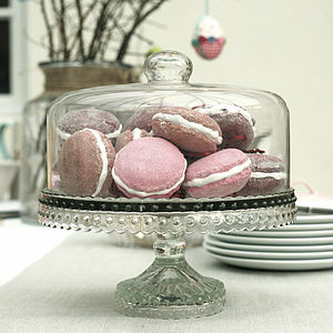 Glass Dome Cake Stand - kitchen
