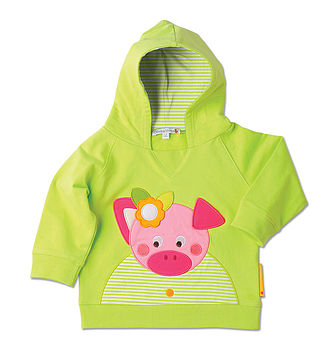 Peggy The Pig Hooded Sweatshirt
