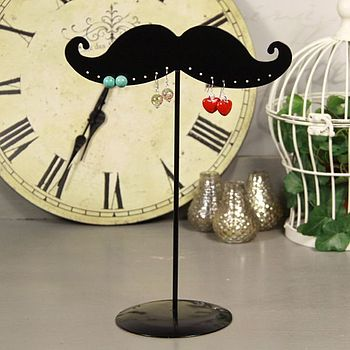 Moustache Earring Stand