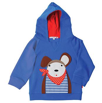 Douglas The Dog Hooded Sweatshirt