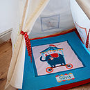 Child's Circus Play Mat Quilt