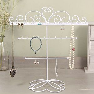 Heart Jewellery And Earring Stand - women's jewellery