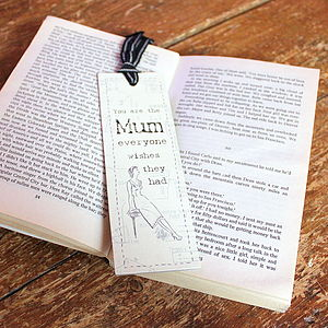 'Everyone Wishes' Mother's Day Bookmark