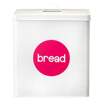 Enamel Bread Storage Cannister