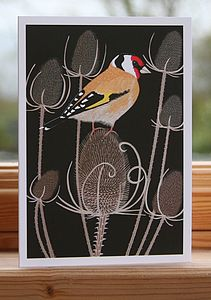 Goldfinch Card - blank cards