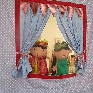 Personalised Doorway Puppet Theatre - games
