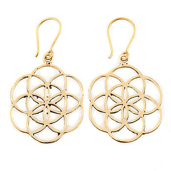 40% Off Seed Of Life Earrings