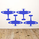 Spitfire Vinyl Wall Sticker