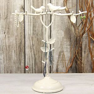 Love Birds Jewellery Tree - jewellery stands