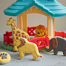 Child's Safari Zoo Biscuit Gift Box