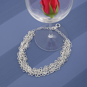 Silver Rings Necklace - necklaces & pendants