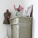 Distressed Vintage French Chest Of Drawers