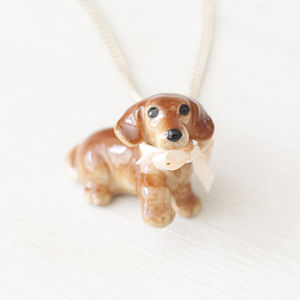 Sausage Dog Necklace - necklaces & pendants