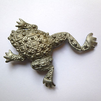 Vintage Gun Metal Animal Brooch