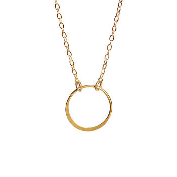 Gold Infinity Is Too Short Necklace