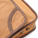 Cobra Tan Crossbody Bag