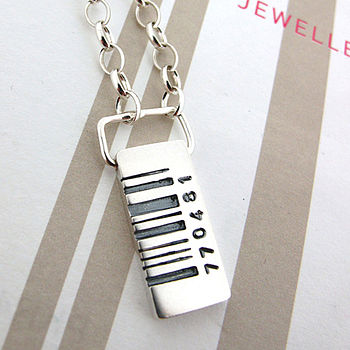 Barcode Tag Pendant