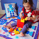Child on play mat