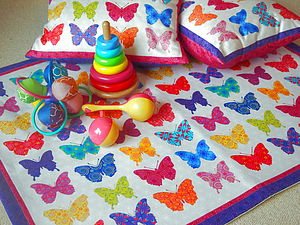 Butterfly Baby Play Mat - children's room