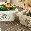 Set Of Two Windowsill Fleur Planters