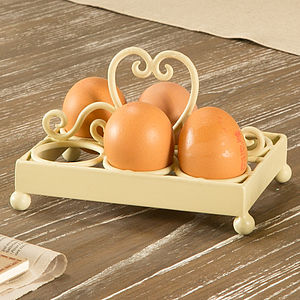 Heart Eggs Holder - easter home