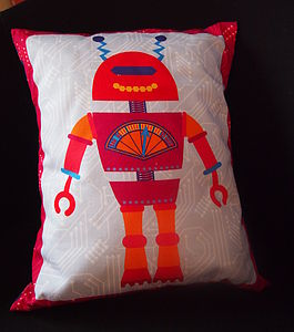Kids' Robot Cushion