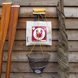 Child's Crabbing Kit In Recycled Sailcloth Bag
