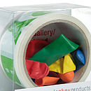 Birthday Tape And Balloons Kit