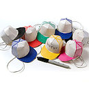Set Of Eight Personalised Party Hats