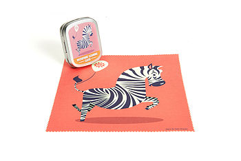 Zebra Microfibre Cleaning Cloth